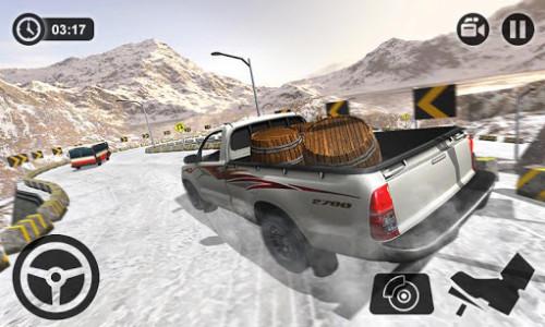 اسکرین شات بازی Uphill Cargo Pickup Truck Driving Simulator 2017 3