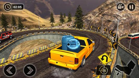 اسکرین شات بازی Uphill Cargo Pickup Truck Driving Simulator 2017 8