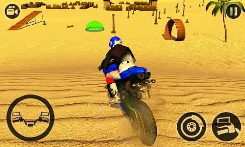 اسکرین شات بازی Offroad Moto Bike Hill Rider 4