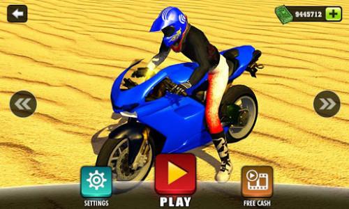 اسکرین شات بازی Offroad Moto Bike Hill Rider 2