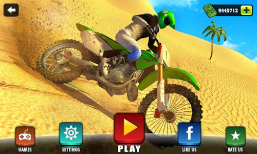 اسکرین شات بازی Offroad Moto Bike Hill Rider 1