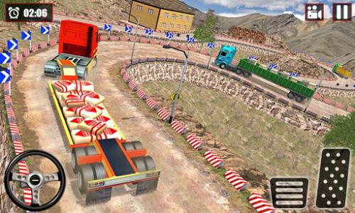 اسکرین شات بازی Offroad Snow Trailer Truck Driving Game 2020 2