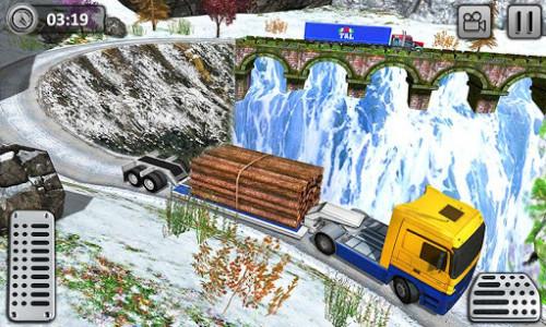 اسکرین شات بازی Uphill Cargo Transport Truck Driver 2019 4