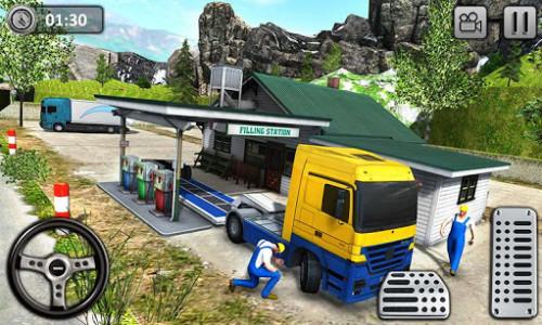 اسکرین شات بازی Uphill Cargo Transport Truck Driver 2019 3