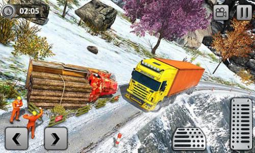 اسکرین شات بازی Uphill Cargo Transport Truck Driver 2019 2