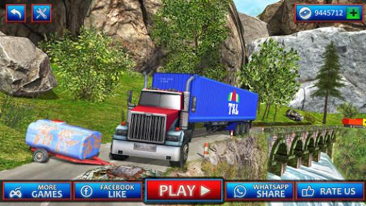 اسکرین شات بازی Uphill Cargo Transport Truck Driver 2019 7