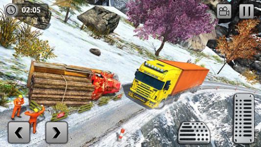 اسکرین شات بازی Uphill Cargo Transport Truck Driver 2019 8