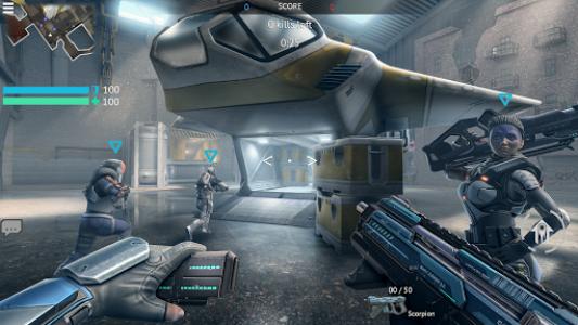 اسکرین شات بازی Infinity Ops: Online FPS 2