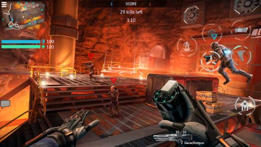 اسکرین شات بازی Infinity Ops: Online FPS 4