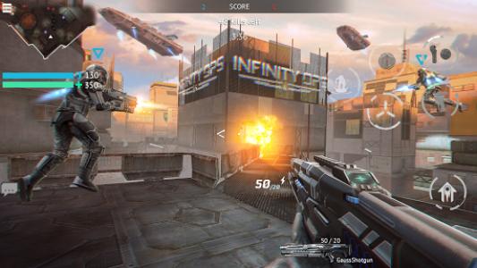 اسکرین شات بازی Infinity Ops: Online FPS 3