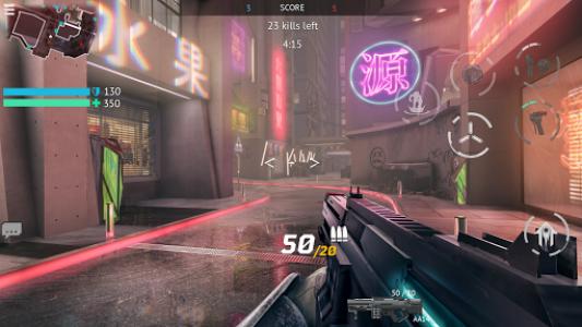 اسکرین شات بازی Infinity Ops: Online FPS 1