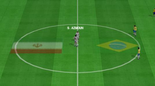 اسکرین شات بازی فوتبال PES 2020 + استقلال پرسپولیس + گزارش فارسی 3