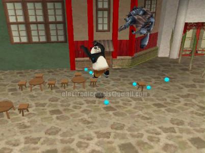 اسکرین شات بازی پاندای کونگ فوکار : جنگجویان افسانه ای 3