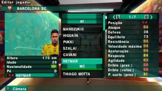 اسکرین شات بازی فوتبال PES 2018 دوربین PS4 3