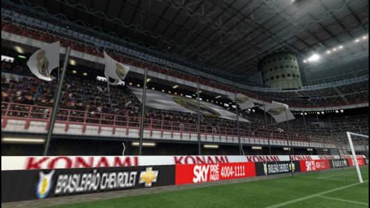 اسکرین شات بازی فوتبال PES 2018 دوربین PS4 2