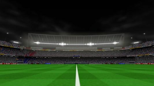 اسکرین شات بازی فوتبال PES 2019 زاویه دوربین PS4 6