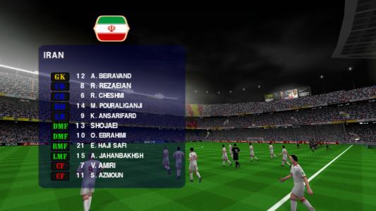 اسکرین شات بازی فوتبال PES 2019 زاویه دوربین PS4 5