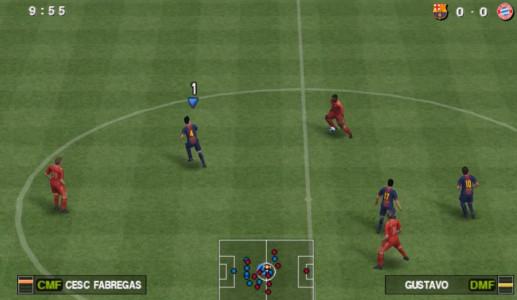 اسکرین شات بازی فوتبال PES 2013 1