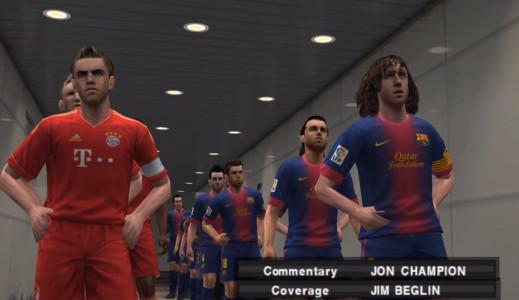 اسکرین شات بازی فوتبال PES 2013 2