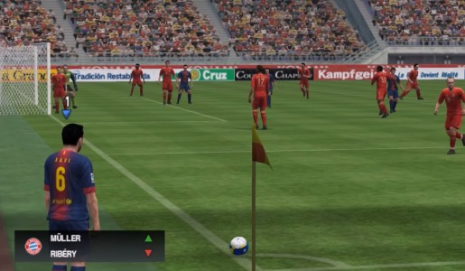 اسکرین شات بازی فوتبال PES 2013 3