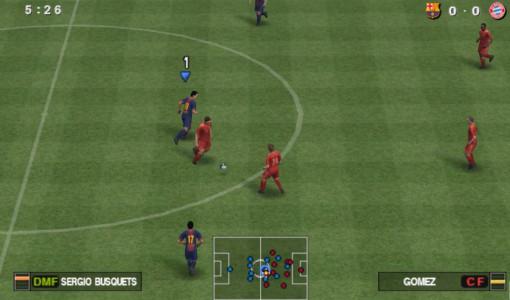 اسکرین شات بازی فوتبال PES 2013 4