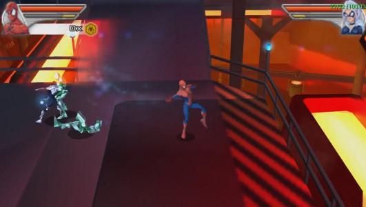 اسکرین شات بازی مرد عنکبوتی : دوست و دشمن 1