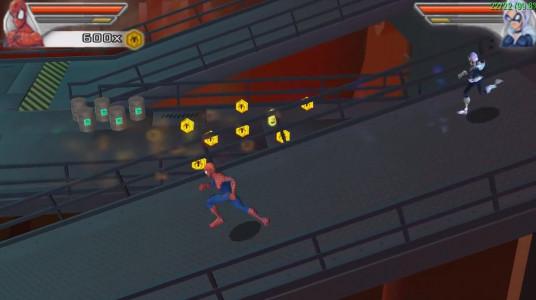 اسکرین شات بازی مرد عنکبوتی : دوست و دشمن 3