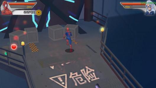 اسکرین شات بازی مرد عنکبوتی : دوست و دشمن 2