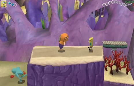 اسکرین شات بازی باب اسفنجی : قهرمان زرد 3