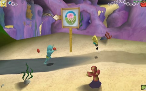 اسکرین شات بازی باب اسفنجی : قهرمان زرد 2