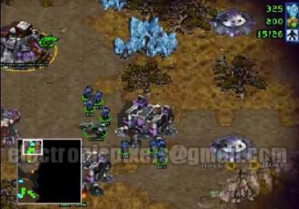اسکرین شات بازی استارکرفت (Starcraft) 2