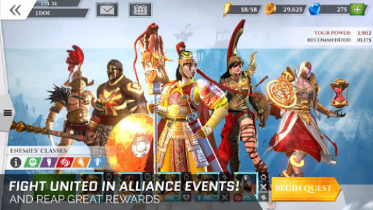 اسکرین شات بازی Gods of Rome 3