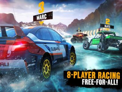 اسکرین شات بازی Asphalt Xtreme: Rally Racing 4