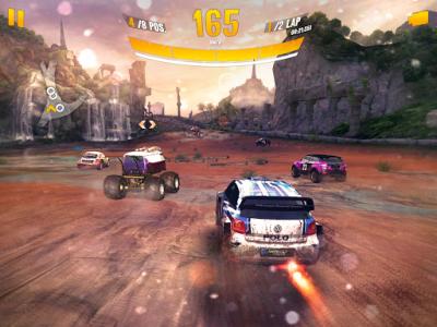 اسکرین شات بازی Asphalt Xtreme: Rally Racing 6