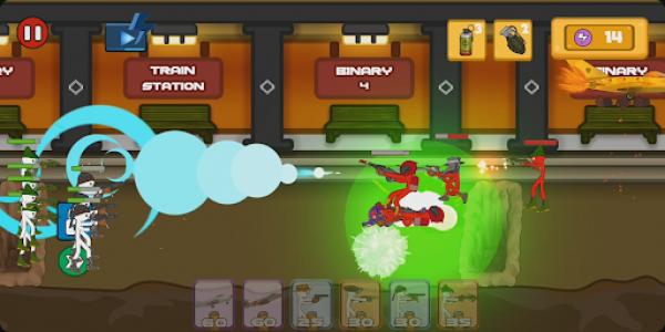 اسکرین شات بازی Stickman Fight - Stickman Legacy Fighting Games 5
