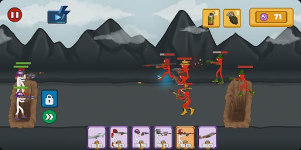 اسکرین شات بازی Stickman Fight - Stickman Legacy Fighting Games 2