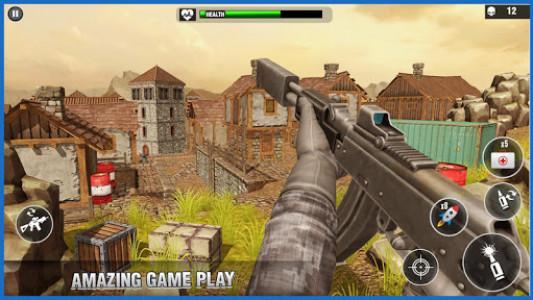 اسکرین شات بازی Desert Survival Missions : Best Shooter Game 2k18 3