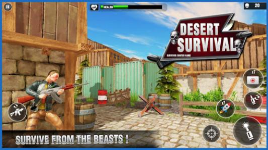 اسکرین شات بازی Desert Survival Missions : Best Shooter Game 2k18 5