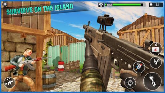 اسکرین شات بازی Desert Survival Missions : Best Shooter Game 2k18 1