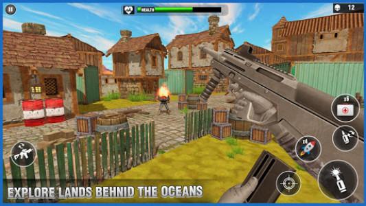 اسکرین شات بازی Desert Survival Missions : Best Shooter Game 2k18 2
