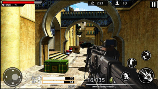اسکرین شات بازی Machine Gun Shoot War Shooter 2k18 4