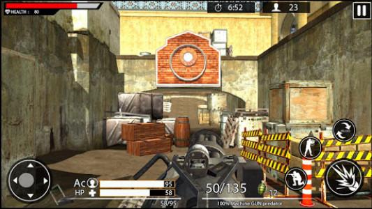 اسکرین شات بازی Machine Gun Shoot War Shooter 2k18 8