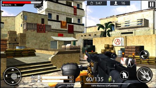 اسکرین شات بازی Machine Gun Shoot War Shooter 2k18 1