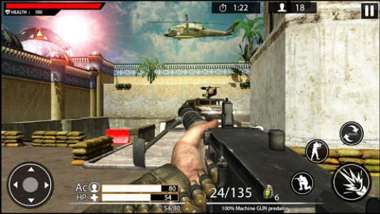 اسکرین شات بازی Machine Gun Shoot War Shooter 2k18 5