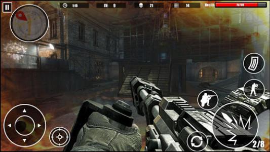 اسکرین شات بازی Special Forces Survival Shooter 2K18 3