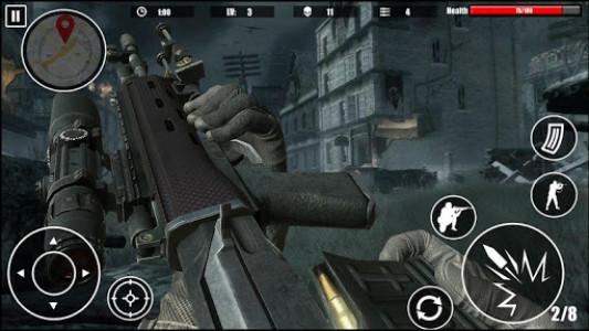اسکرین شات بازی Special Forces Survival Shooter 2K18 1