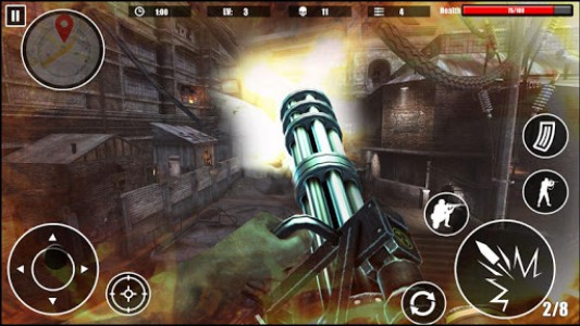 اسکرین شات بازی Special Forces Survival Shooter 2K18 8
