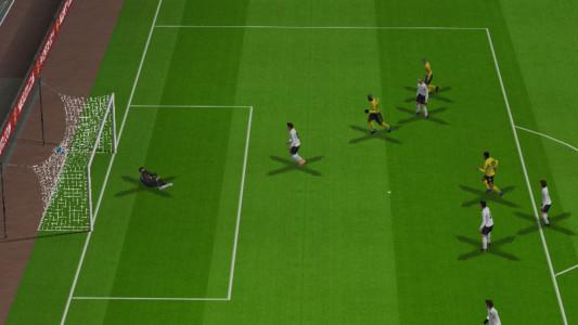 اسکرین شات بازی فوتبال 2021 دوربین PS4 3