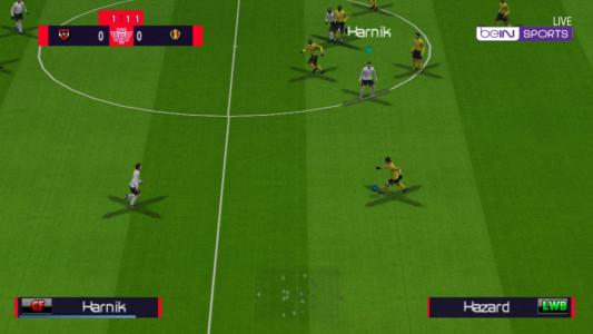 اسکرین شات بازی فوتبال 2021 دوربین PS4 1