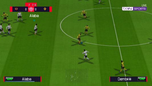 اسکرین شات بازی فوتبال 2021 دوربین PS4 2
